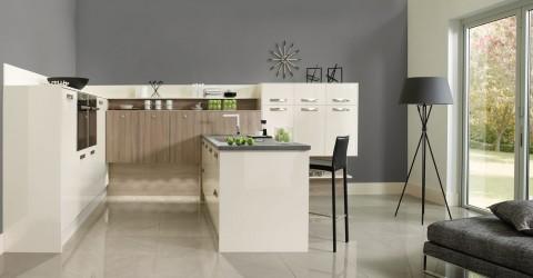 Mix and Match Image Gloss Oyster with Grey Bordolino Oak